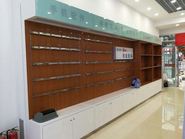 手机配件柜,数码产品展示柜