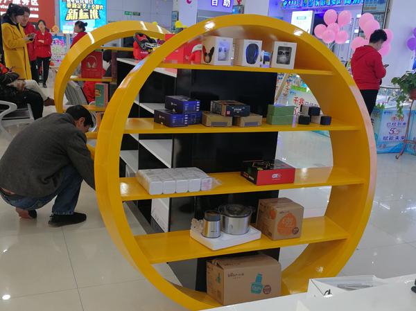 电信营业厅商品展柜,电子产品展柜