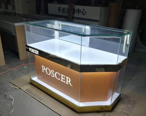 兰州手机展柜玻璃展示柜
