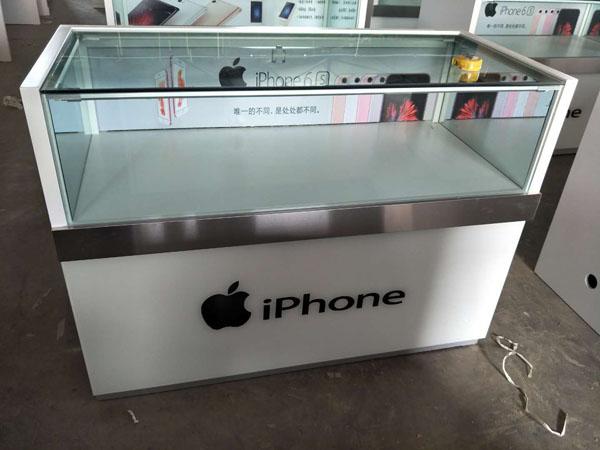 苹果手机展台定做
